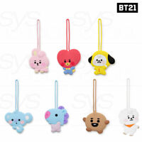 BTS BT21 Official Authentic Goods Silicone Luggage Tag Baby Ver + Tracking Num