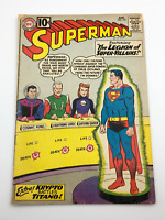 Superman #147 (1961)  Key! 1st app of the Legion of SUPER-VILLIANS!