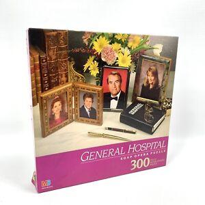 General Hospital 1991 Milton Bradley 300 Piece Puzzle