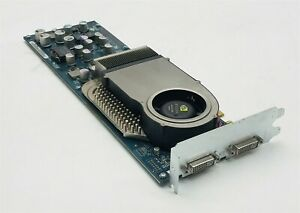 Apple NVIDIA GeForce 6800 Ultra A220 603-7710 2027 256MB Graphics Card Dual DVI