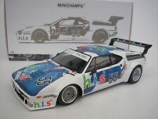 BMW M1 #55 PROCAR SÉRIE 1980 M. ANGLE DU JARRET 1/18 MINICHAMPS 180802955 NEUF