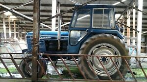 Leyland 2100 Tractor, 1975, 6 cylinder, 100hp, 7,000 hours 2WD, Lightly Restored