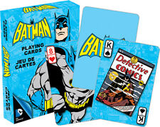 DC Comics Retro BATMAN playing cards brand new sealed
