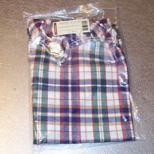 Longaberger Woven Traditions Plaid Large Storage Solutions Liner ~ New in Bag!