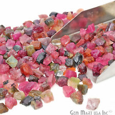 Natural Rough Multi Tourmaline Loose Gemstones Tiny Watermelon Gems 0.71oz Lot