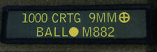 1x4 9mm Ammo Can Morale Patch Military Tactical Army Flag USA Hook Badge
