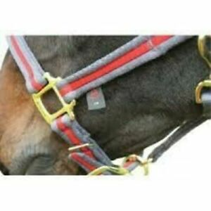 Aerborn Soft Padded Cushion Web Headcollar, All Sizes , Various Colours