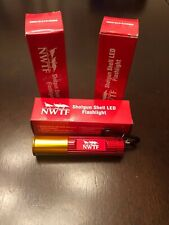 NWFT Shotgun Shell Led Flashlight ( 3 Flashlights) , brand new