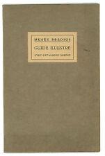 KNUTTEL GERHARDUS MUSEE BREDIUS GUIDE ILLUSTRE AVEC CATALOGUE ABREGE 1928 ARTE