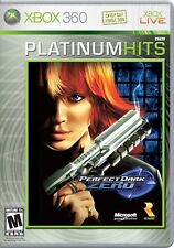 XBOX 360 Perfect Dark Zero Video Game Platinum Hits Multiplayer Online 1080p HD