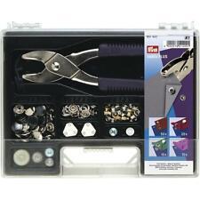 Prym Sortimentskasten mit Zange Fürdrucker Ösen NIETEN 651420