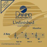 Mandisa - Unfinished -  Accompaniment / Performance Track – New