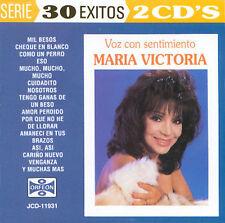Voz Con Sentimiento by María Victoria (CD, Jul-1995, 2 Discs, Orfeon)