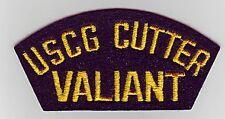 USCGC VALIANT WMEC-621 - U.S. COAST GUARD CAP PATCH