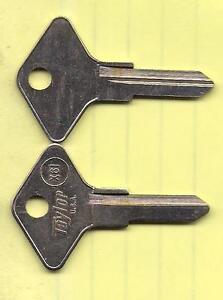 Key Blank X61 NE40 For Renault