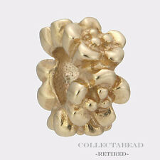 Authentic Pandora 14K Gold Ring of Flowers Spacer 750269  *RETIRED*