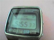 UNUSUAL SEIKO MEMO BANK CALENDAR m354=5019  WATCH RUNS 4U2FIX SETTING MODE