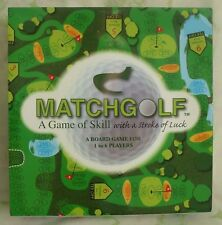 MATCHGOLF A BOARD GAME OF SKILL WITH A STROKE OF LUCK BRAND NEW IN ORIGINAL BOX