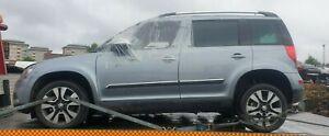 Skoda Yeti 2012 LF7M Superb Business Grey Full Car Breaking Wheel Nut Only