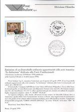 ITALIA 1999 CORTE COSTITUZIONALE  BOLLETTINO COMPLETO DI FRANCOBOLLI FDC