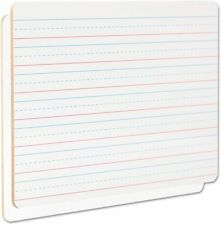 """Universal Office Products 43911 Lap/learning Dry-erase Board, Lined, 11 3/4"""" X 8"""