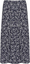 Knee-Length Viscose Machine Washable Floral Skirts for Women