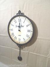 Uhr, Wanduhr heinehome Pendeluhr braun Antiklook  64/35 cm     076056