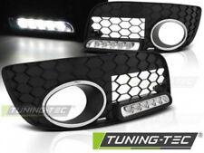 Coppia Griglie Grigliette anteriori con luce DRL LED Tuning GOLF 5 GTI LED Nero