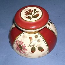 ideal gift porcelain paper weight inkwell by mac lntyrb  Antique vintage