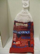Crochet Kitchen Towel ~ (4th of July) ~ **Gift Idea