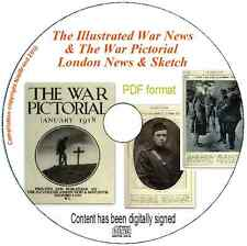 The Illustrated War News & The War Pictorial - London News & Sketch ebook PDF CD