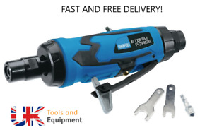 """DRAPER 65130 1/4"""" STRAIGHT AIR DIE ANGLE GRINDER 6MM CUT OFF TOOL NEW"""