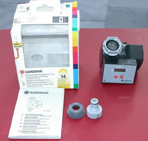 Programmateur d'arrosage électronique GARDENA T14e