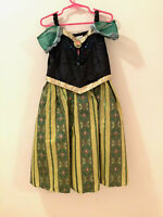 DISNEY PARKS Princess Anna Frozen Coronation Dress Costume Size S/6