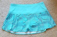 Women's Callaway Running Tennis Athletic Skirt/Skort/Shorts Size XL Blue EUC
