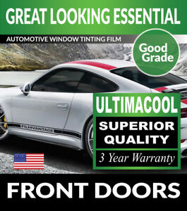 UC PRECUT FRONT DOORS WINDOW TINT FILM FOR TOYOTA PICKUP STD W/O VENT 88-95