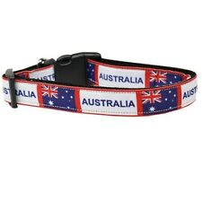 Mirage Pet Products Australia Nylon Dog Collar Buckle Metal D Ring Large