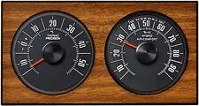 HR-IMOTION History Hygrometer Thermometer WOOD zum aufhängen aufstellen