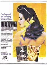 OLIVIA METAMORPHOSIS SET BY COMIC IMAGES 2002