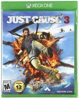 Just Cause 3 (Microsoft Xbox One, 2015) BRAND NEW