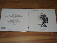 EGO DECAY - CONTROL / DIGIPACK-CD 2016