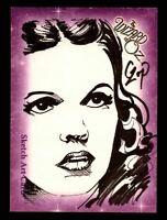 "Wizard of Oz Sketch Card by John Czop ""Dorothy"" Breygent 2006"