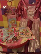 Set Lillifee Prinzessin Kleid 110/116 Perlenspiel Schminke Diadem O18