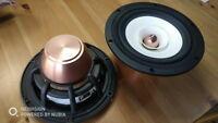 pair davidlouis aduio HiEND 6.5inch fullrange speaker ( NEO magnet) PK fostex