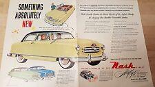 Nash Airflyte Car Advertisement - 1950
