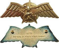 Brevet Combat Choc, C.P.E.S, DGSE, doré, recherche humaine Ber. GS 150(10102)