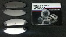 PERFORMANCE FRICTION 1006.10  CARBON  METALLIC BRAKE PADS  SPRINTER 2500 REAR