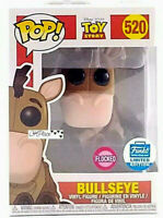 Funko Pop Toy Story 4 Flocked Bullseye Funko Shop Exclusive Limited Edition