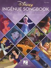 Disney Ingenue Songbook Piano Vocal Guitar Sheet Music Book Mulan Moana Frozen