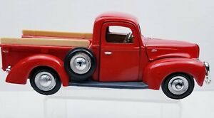 1940 Ford Pickup Red. Scale 1:24 Diecast